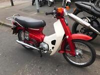 1990 Honda c90 cub electric start -motd very collectable £999