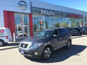 2013 Nissan Pathfinder Platinium AWD--1.9% FINANCING AVAILABLE,