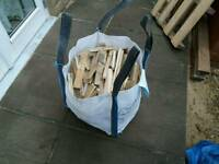 Dried kindling 45 kg BAG For £30 free local delivery