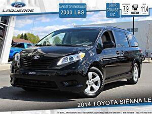 2014 Toyota Sienna LE**TRÈS RARE !!CUIR*BLUETOOTH*7 PASSAGERS**