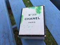 1 Bottle of Chanel no22 perfume 7ml circa 1954