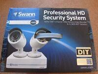 Swann HD 1080p CCTV - 4 Channel 2 Cameras