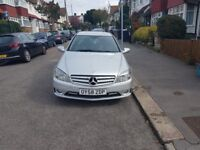 MERCEDES CLC - SILVER - HALF LEATHER - REVERSE AND FRONT SENSORS