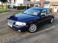54/2004 Volvo S80 2.4 TD D5 SE Auto 4dr Saloon Blue