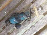 Makita 3707f 240v 1/4in trimmer 440w