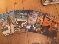 Breaking bad DVD series 1-4