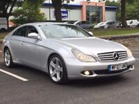 2007 MERCEDES CLS 320 CDI * SAT NAV * HEATED LEATHER * SERVICE HISTORY * PART EX * DELIVERY *