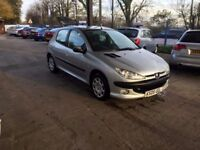 Peugeot 206 Hatchback 1.4 8v S 5dr (a/c) (3 Owners)Long MOT CHEAP CARS !! ALL CARS UP To 1000pounds