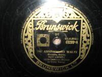 BING CROSBY - 78rpm - BRUNSWICK - 03289 - THE ANNIVERSARY WALTZ