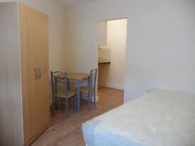 NEWLY REFURBISHED STUDIO FLATS WITH GARDEN IN BURNT OAK HA8 INCLUDING BILLS & COUNCIL TAX & WIFI .