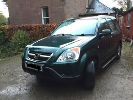 2004 HONDA CR-V GREEN AUTOMATIC 2.0 PETROL K20A4 BREAKING FOR PARTS