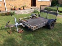 Golf buggy trailer