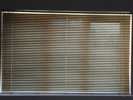 Venetian Gold Metal Blinds