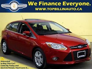 2012 Ford Focus Navigation, Leather, Sunroof, 45 Kms
