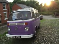 VW Type 2 Campervan 1972