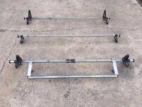 Rhino roof bars + roller Transit mk6 mk7