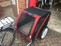 Le Pet dog cycle trailer