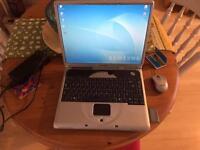Samsung silver laptop