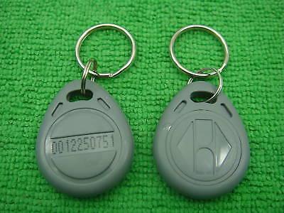 10p Gray 125khz Rfid Proximity Id Identification Token