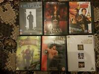 7 dvds for sale need to go asap