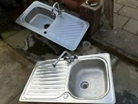 Used sink and taps