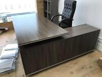 Office desk chair and chest of drawer