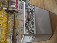 Aluminum Glass Display Cabinete x 5 Shop Fitting