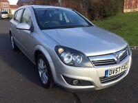 Vauxhall Astra 1.4 SXI 2007. Good specs.