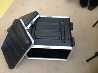 ABS-4U Double door flight case