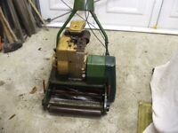 Webb Petrol Lawn Mower No Grass was runing Last Years For Spares Or Repairs
