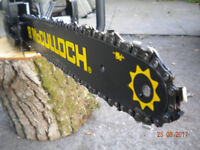 McCULLOCH CHAINSAW - 38cc - WORKING ORDER