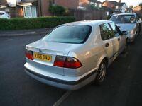 Saab 9-5 saloon,V Reg,2.0 turbo eco,long mot march,manual ,power steering,c/locking,ew,em,climate cd