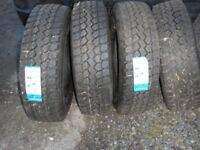 triangle truck tyres 235/R75/17.5 brand new x 4