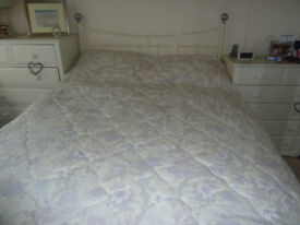 DORMA BEDSPREAD AND MATCHING CURTAINS.....I WILL POST IF NOT LOCAL