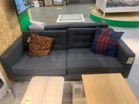 IKEA Southampton, LANDSKRONA, 3-seat sofa, Gunnared dark grey/wood, WAS £479#CircularHub