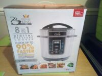 PRESSURE KING PRO 8 IN 1 DIGITAL COOKER USED ONCE BARGAIN BUY NO OFFERS