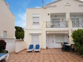 Holiday villa spain Costa Blanca