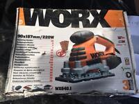 Brand New Worx Finishing Sander