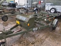 ex army trailers and hoist
