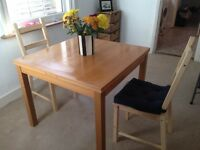 Extending IKEA table