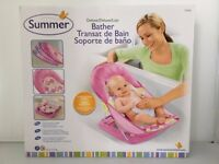 Summer Infant Deluxe Pink Bather NEW - £12