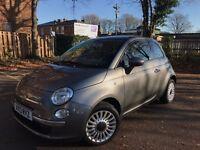 Fiat 500 Lounge 1.2 2013 - 3 Door, Sunroof, stop start, Bluetooth