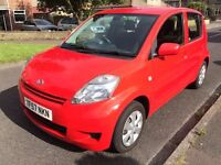 DAIHATSU SIRION 1.3 S, 5DR IN STUNNING BRIGHT RED. VERY NICE CONDITION- PRICE REDUCED