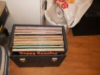 joblot of records and cases