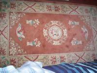 MED SIZED RUG IDEAL FOR BEDROOM