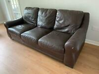 Free couch settee 3 seater and 2 seater
