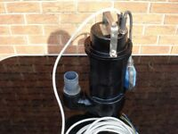 SUBMERSIBLE PUMP 240V 50MM OUTLET
