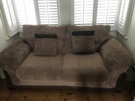 DFS 2 SEATER SOFA BED - Foam Cushions