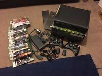 Xbox 360 Elite & games