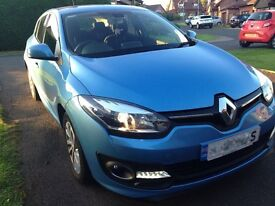 Renault Megane 1.6VVT Dymanique Tom Tom, Pristine Condition, 12k miles, 2014